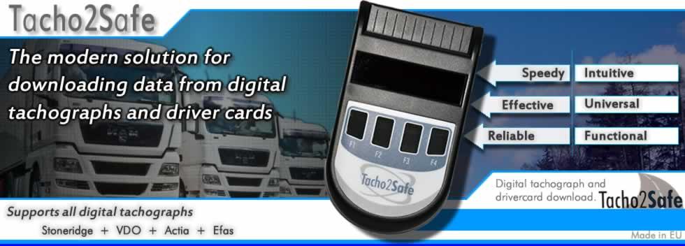 Drivers Tacho Card Reader