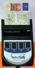 Odczyt card kierowcy
